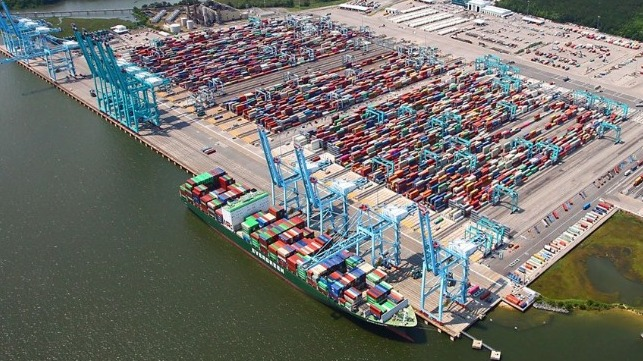 Port of Virginia reports declines but looks to future investments